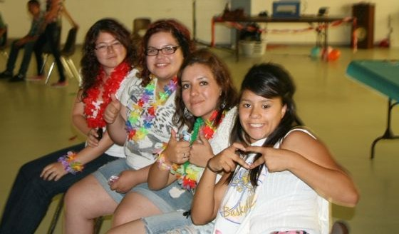 South Kern youth fought sleepiness with friends  at the DHF Youth Lock In./ By ANDRES GARCIA