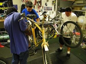 Bike Bakersfield's Bike Kitchen./ Photo courtesy of Bike Bakersfield