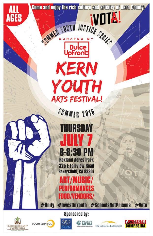 Kern Youth Arts Festival JULY 7